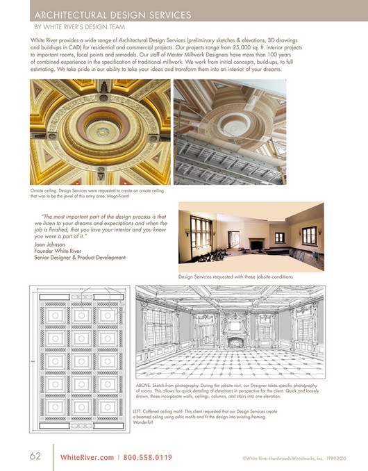 ARCHITECTURAL DESIGN SERVICES BY WHITE RIVERu0027S DESIGN TEAM White River  Provides A Wide Range Of Architectural