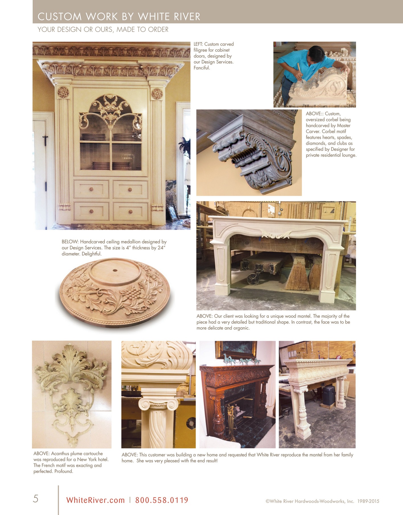 white river new products catalog page 6 7 white river hardwoods is a manufacturer of the finest architectural hardwood doors door specifications can be interior or