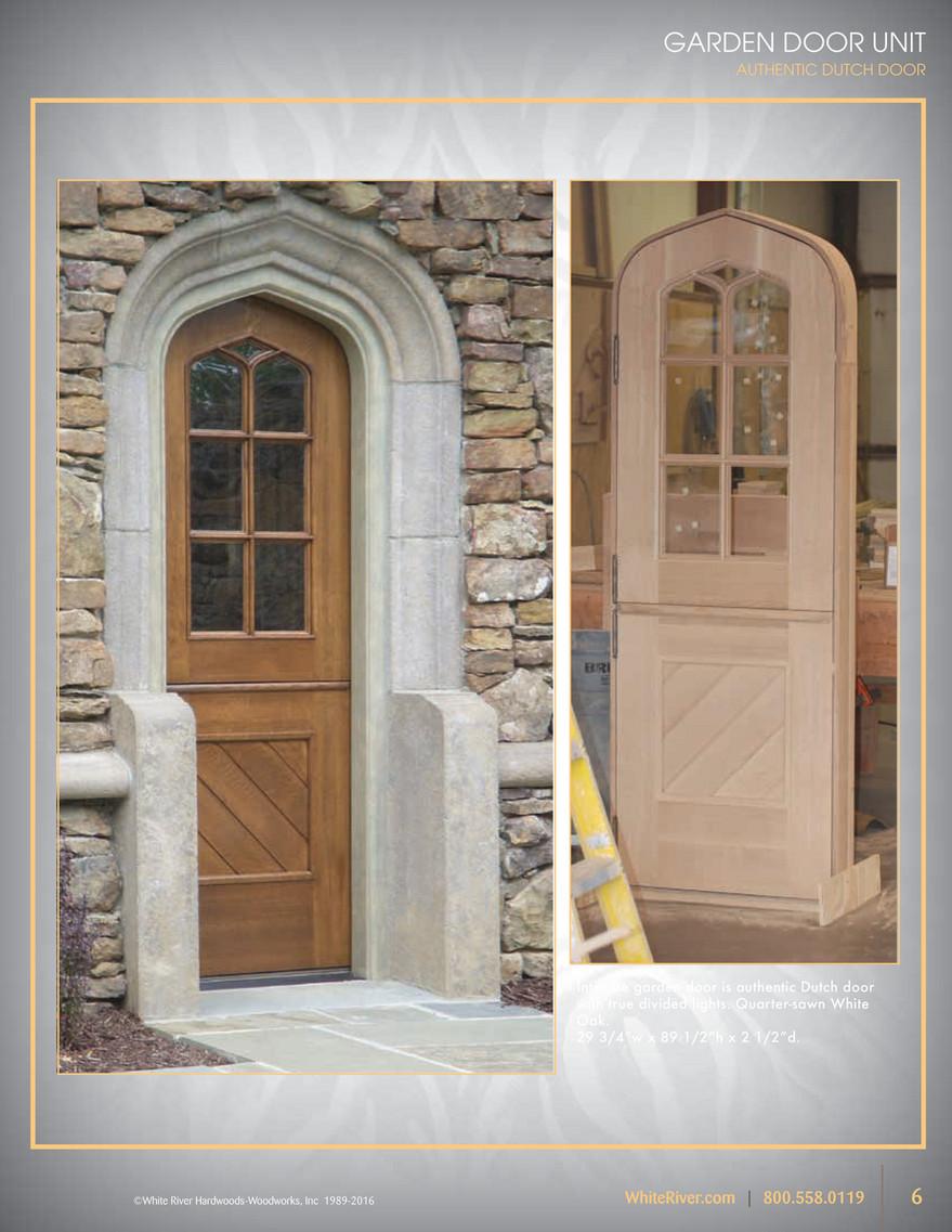 ... GARDEN DOOR UNIT AUTHENTIC DUTCH DOOR GARDEN DOOR UNIT AUTHENTIC DUTCH  DOOR Intimate Garden Door Is.